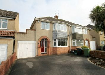 Thumbnail 3 bed detached house for sale in Lulworth Crescent, Downend, Bristol