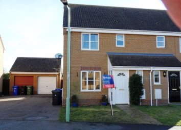 Thumbnail 3 bedroom property to rent in Johnson Way, Lowestoft