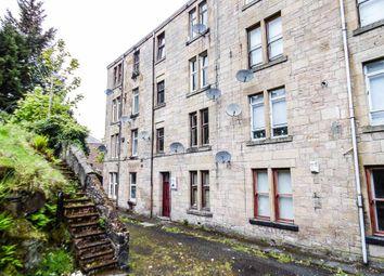 Thumbnail 1 bedroom flat for sale in Kilmory Terrace, Port Glasgow