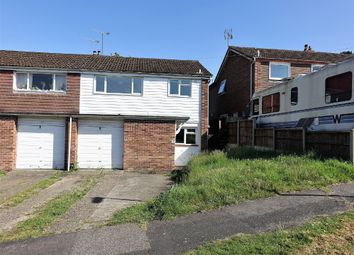 Thumbnail 3 bed semi-detached house for sale in Furzedale Park, Hythe, Southampton
