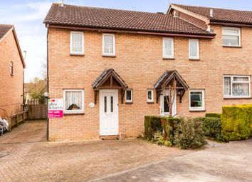 Thumbnail 2 bedroom end terrace house for sale in Danvers Mead, Pewsham, Chippenham