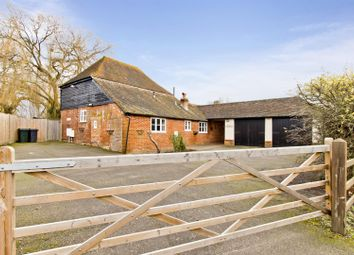 Thumbnail 4 bed barn conversion for sale in High Halden, Ashford