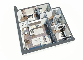 Thumbnail 2 bed flat for sale in Reliance House Apartments, 20 Water Street, Liverpool