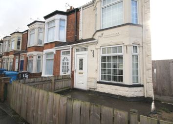Thumbnail 2 bedroom end terrace house to rent in Derwent Avenue, Hampshire Street, Hull