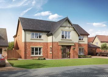 Thumbnail 4 bed detached house for sale in Plot 4, Medburn Park, Medburn Village, Ponteland, Newcastle Upon Tyne