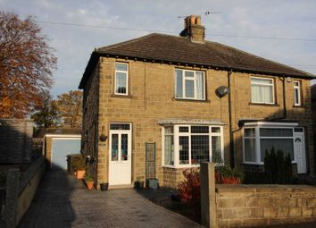 Thumbnail 3 bed semi-detached house to rent in Sunnywood House, Chandler Lane, Honley, Holmfirth