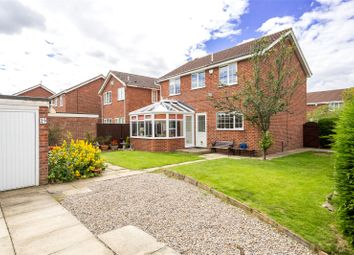 Thumbnail 4 bedroom detached house for sale in Orrin Close, York