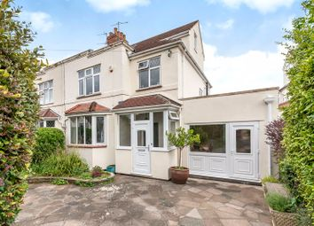 Thumbnail 4 bed semi-detached house for sale in Downs Cote Drive, Westbury-On-Trym, Bristol