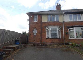 Thumbnail 3 bed end terrace house for sale in Allens Farm Road, Birmingham, West Midlands
