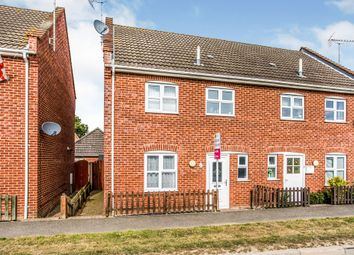 Thumbnail 3 bed semi-detached house for sale in Bluebell Close, Watton, Thetford