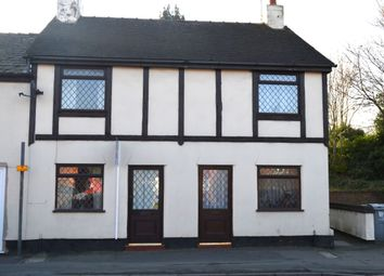 Thumbnail 2 bed terraced house to rent in Longcross Court, Lewin Street, Middlewich