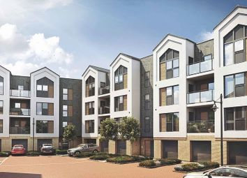 Thumbnail 3 bed flat for sale in Augustus Way, St Mary's Island, Chatham
