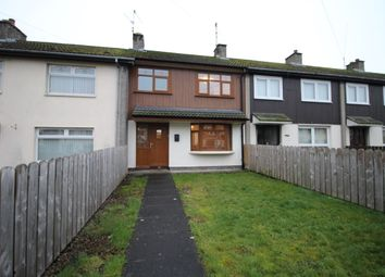 Thumbnail 3 bed terraced house to rent in Curtis Walk, Lisburn