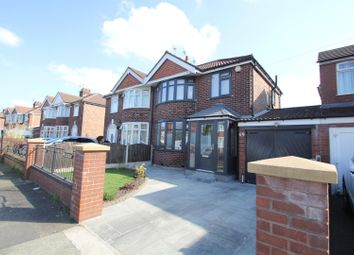 Thumbnail 3 bed semi-detached house for sale in Norwich Road, Stretford, Manchester