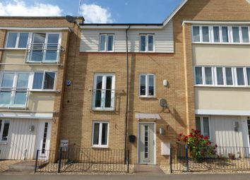 Thumbnail 3 bed terraced house for sale in Clayburn Road, Hampton Centre, Peterborough
