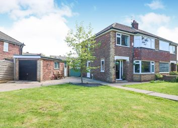 Thumbnail 3 bed semi-detached house for sale in Ancaster Avenue, Scartho, Grimsby