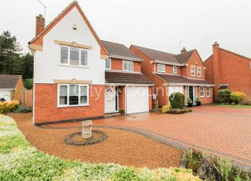 Thumbnail 4 bed detached house for sale in Teanby Court, South Bretton, Peterborough
