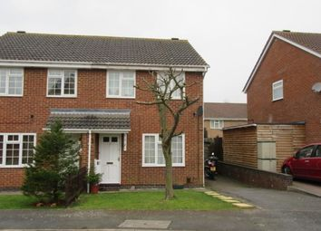 Thumbnail 3 bed semi-detached house to rent in Glamis Close, Rushden