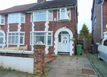 Thumbnail 3 bed semi-detached house for sale in Greenville Road, Bebington, Wirral, Merseyside