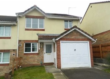 Thumbnail 3 bed semi-detached house to rent in Heol Hafdy, Swansea