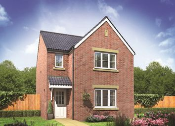 "Thumbnail 3 bed detached house for sale in ""The Hatfield"" at Norwich Common, Wymondham"