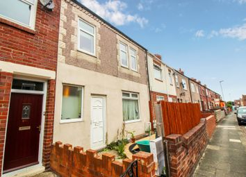 Thumbnail 4 bedroom terraced house for sale in Castle Terrace, Ashington, Northumberland