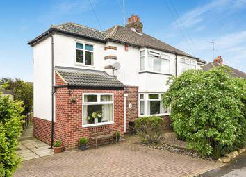Thumbnail 3 bed semi-detached house for sale in Benton Park Drive, Rawdon, Leeds