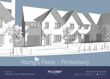 Thumbnail 4 bed semi-detached house for sale in Plot 12 Young's Piece, Pontesbury