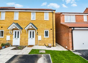 Thumbnail 2 bed semi-detached house for sale in 56 Furnace Close, Lincoln