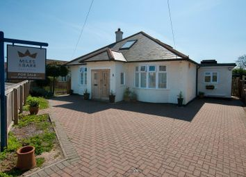 Thumbnail 2 bed detached bungalow for sale in Swalecliffe Road, Whitstable