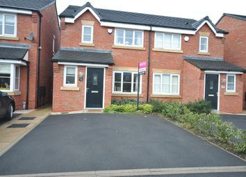 Thumbnail 3 bed semi-detached house for sale in Chichester Lane, Eccles, Manchester