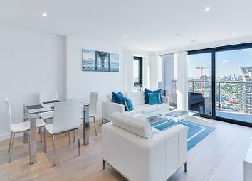 Thumbnail 3 bed flat to rent in Horizons Tower, Canary Wharf