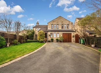 Thumbnail 4 bed detached house for sale in Long Lane, Honley, Holmfirth