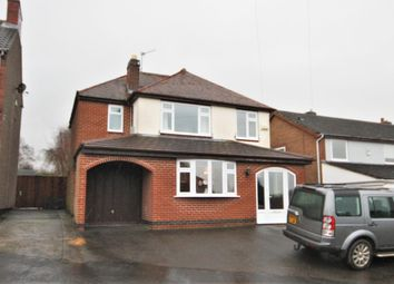Thumbnail 4 bedroom detached house for sale in Cademan Street, Whitwick, Coalville