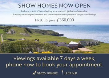 Thumbnail 3 bed detached house for sale in Plot 21, Pistyll, Gwyned
