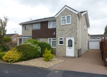 Thumbnail 3 bed semi-detached house for sale in Barton Close, Charlton Village, Andover