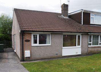 Thumbnail 2 bed semi-detached bungalow for sale in Heol Clwyddau, Ygv, Beddau
