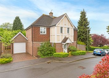 Thumbnail 4 bed detached house for sale in Whitebeam Close, Epsom, Surrey
