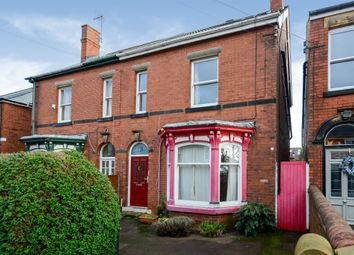 Thumbnail 5 bed semi-detached house for sale in Cromwell Road, Chesterfield