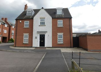 Thumbnail 5 bed detached house for sale in Portsmouth Close, Church Gresley