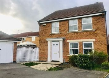Thumbnail 4 bed detached house to rent in Murby Way, Leicester