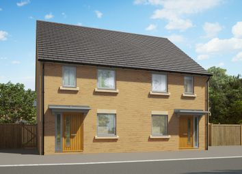 "Thumbnail 2 bed semi-detached house for sale in ""The Barton"" at Heron Road, Northstowe, Cambridge"