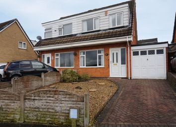 Thumbnail 3 bed semi-detached house for sale in Forrister Street, Meir Hay, Stoke-On-Trent, Staffordshire