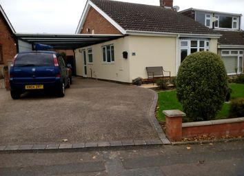 Thumbnail 2 bed semi-detached bungalow for sale in Highlands Avenue, Spinney Hill, Northampton