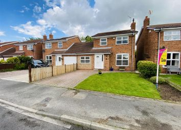 Thumbnail 4 bed link-detached house for sale in Villa Close, Hemingbrough, Selby