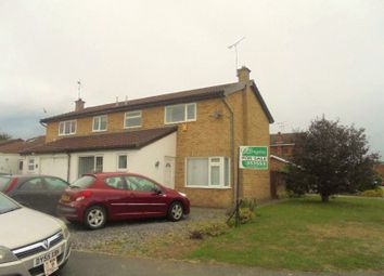 Thumbnail 3 bed semi-detached house for sale in Pinewood Close, Rhostyllen