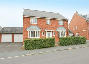 Thumbnail 4 bed detached house for sale in Parklands Drive, Wychwood Village, Weston