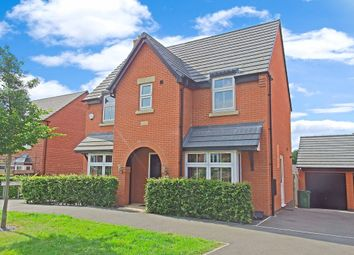 Thumbnail 3 bed detached house for sale in Saxon Drive, Rothley, Leicester