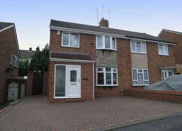 Thumbnail 3 bed semi-detached house for sale in Dudley, Russells Hall, Grenville Road