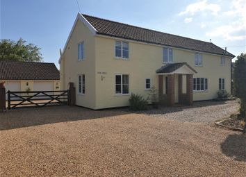 Thumbnail 4 bed detached house for sale in Lower Farm Road, Ringshall, Stowmarket